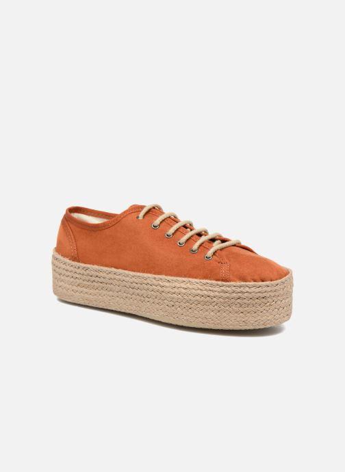 Espadrillos Ippon Vintage Nami Orange detaljeret billede af skoene