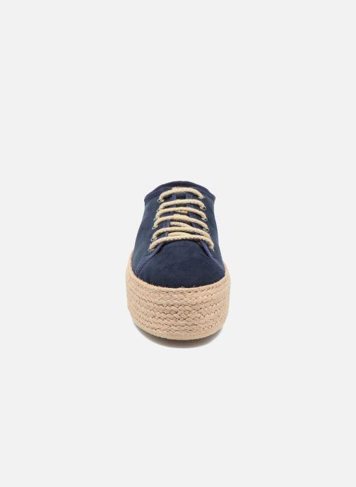 Espadrilles Ippon Vintage Nami Bleu vue portées chaussures