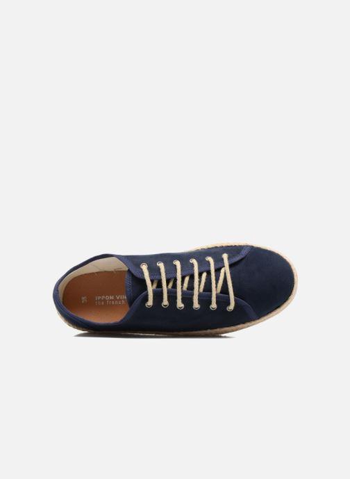 Espadrilles Ippon Vintage Nami Blauw links