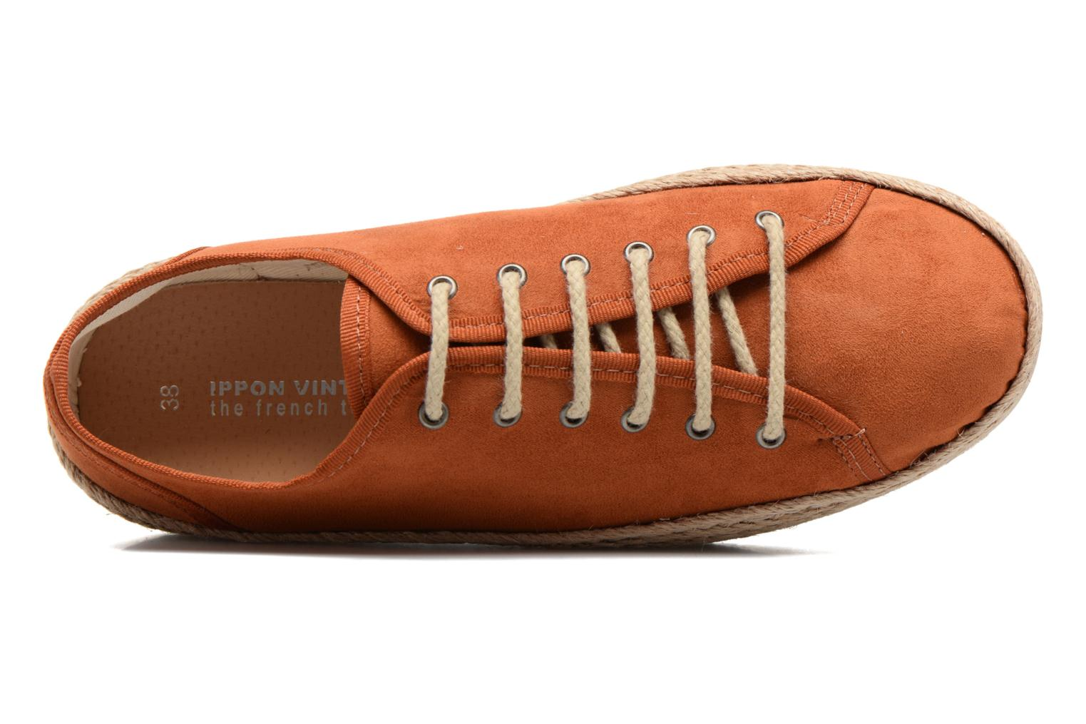 Espadrilles Ippon Vintage Nami Orange view from the left