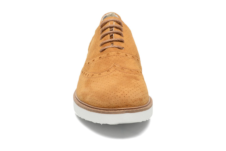Chaussures à lacets Ippon Vintage Andy Pics Marron vue portées chaussures
