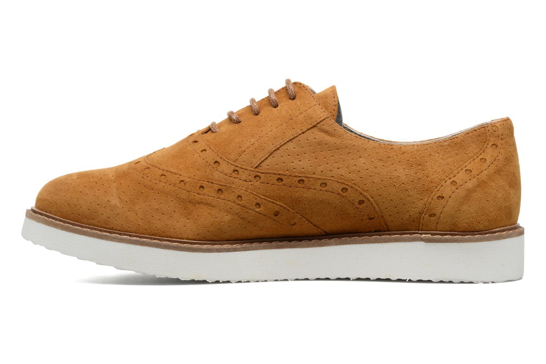 Chaussures à lacets Ippon Vintage Andy Pics Marron vue face
