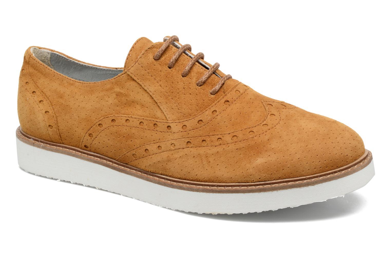 Chaussures à lacets Ippon Vintage Andy Pics Marron vue détail/paire