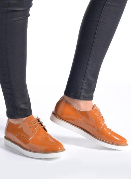 Chaussures à lacets Ippon Vintage James Colors Marron vue bas / vue portée sac