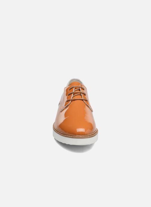 Schnürschuhe Ippon Vintage James Colors braun schuhe getragen