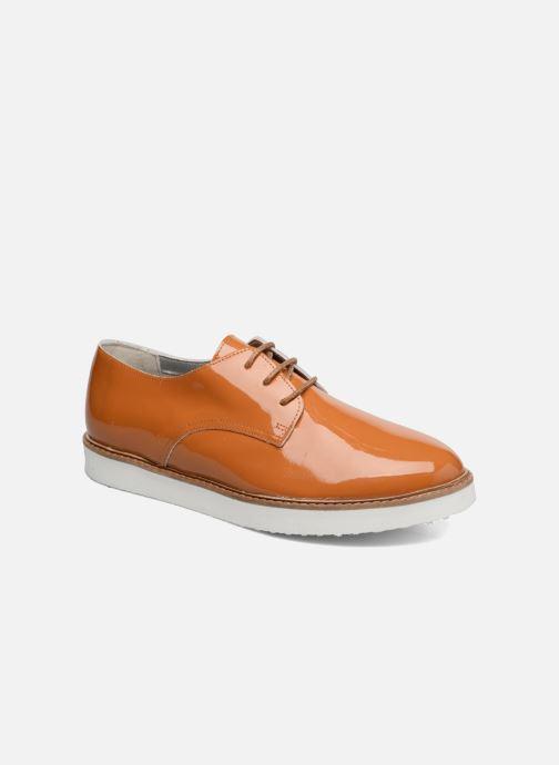 Chaussures à lacets Ippon Vintage James Colors Marron vue détail/paire