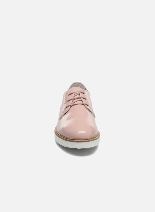 Schnürschuhe Ippon Vintage James Colors rosa schuhe getragen