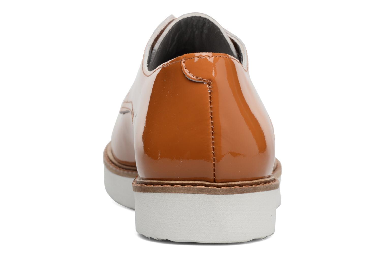 Chaussures à lacets Ippon Vintage James Colors Marron vue droite