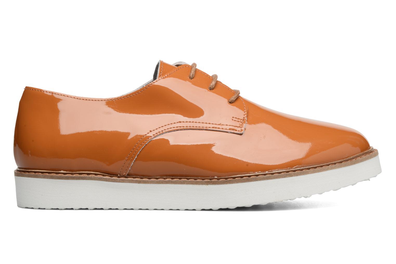 Chaussures à lacets Ippon Vintage James Colors Marron vue derrière