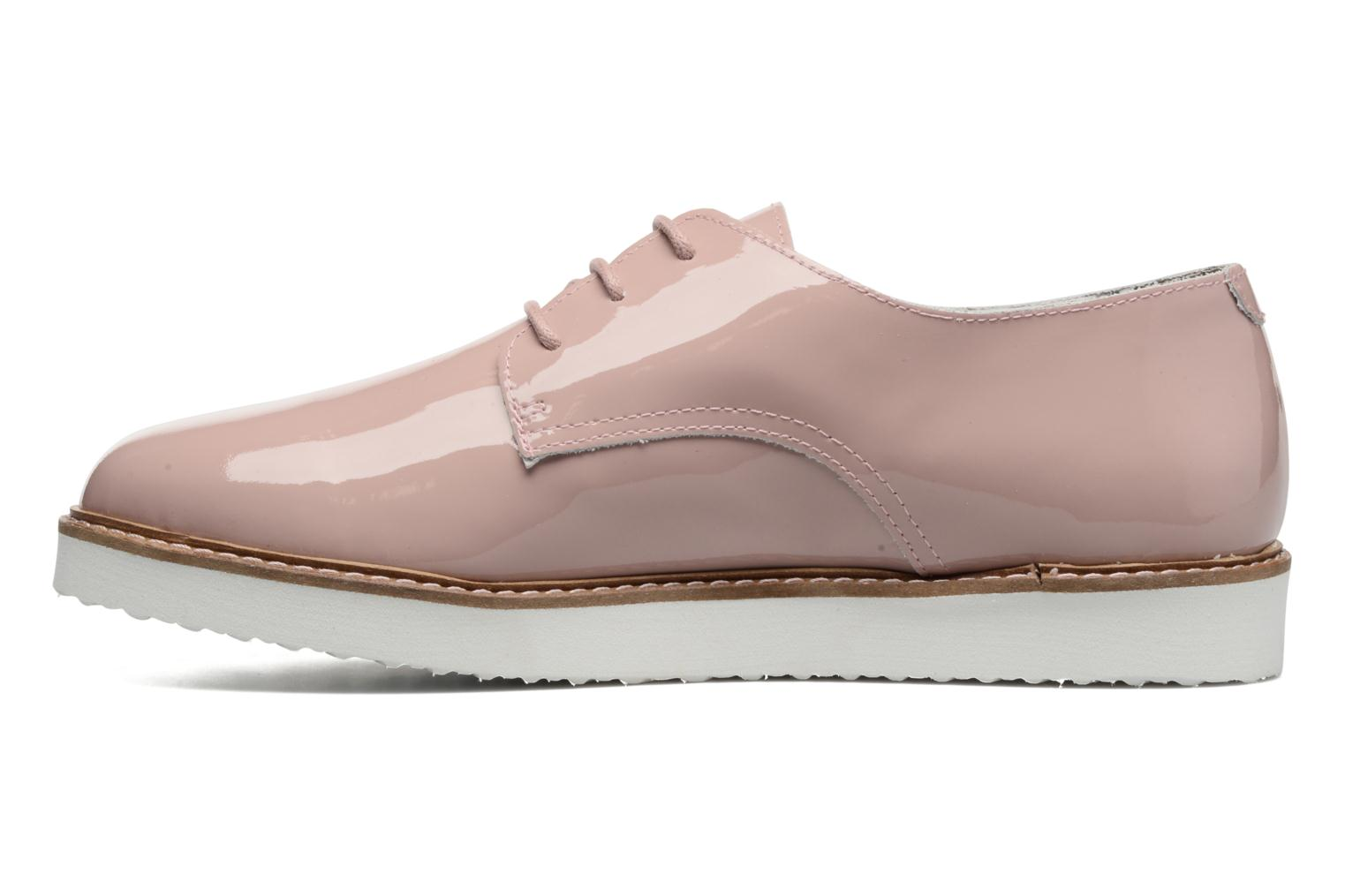 Chaussures à lacets Ippon Vintage James Colors Rose vue face