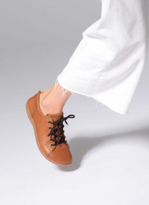 Zapatos con cordones Birkenstock Islay Marrón vista de abajo