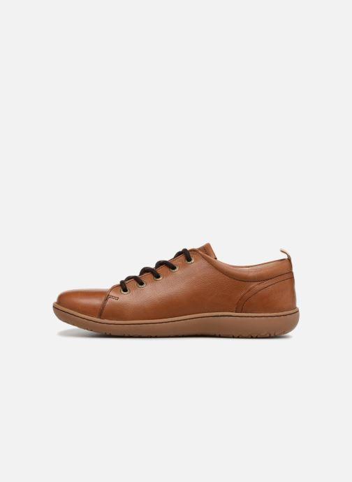Zapatos con cordones Birkenstock Islay Marrón vista de frente