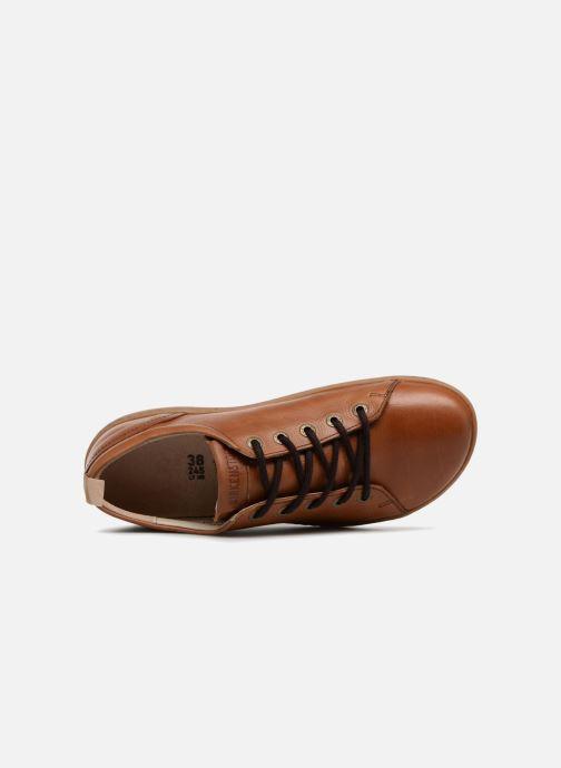 Zapatos con cordones Birkenstock Islay Marrón vista lateral izquierda