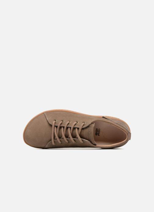 Chaussures à lacets Birkenstock Islay Marron vue gauche