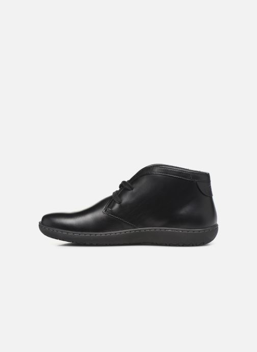 Zapatos con cordones Birkenstock Scarba Negro vista de frente