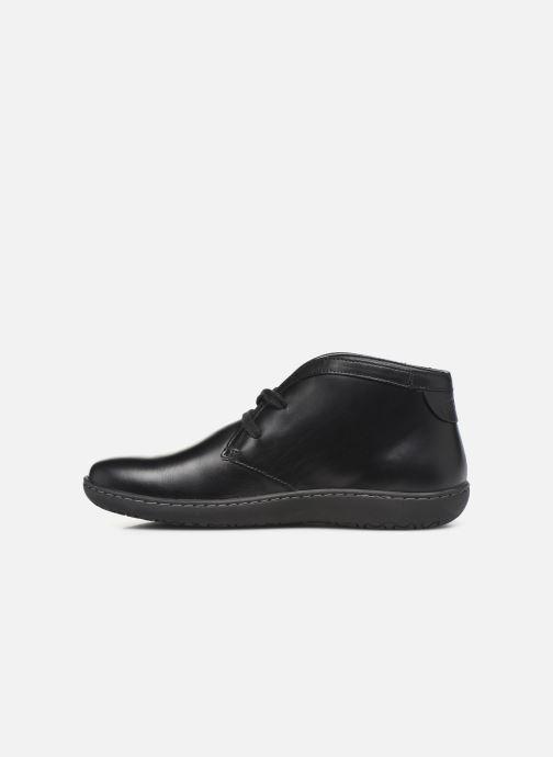 Chaussures à lacets Birkenstock Scarba Noir vue face