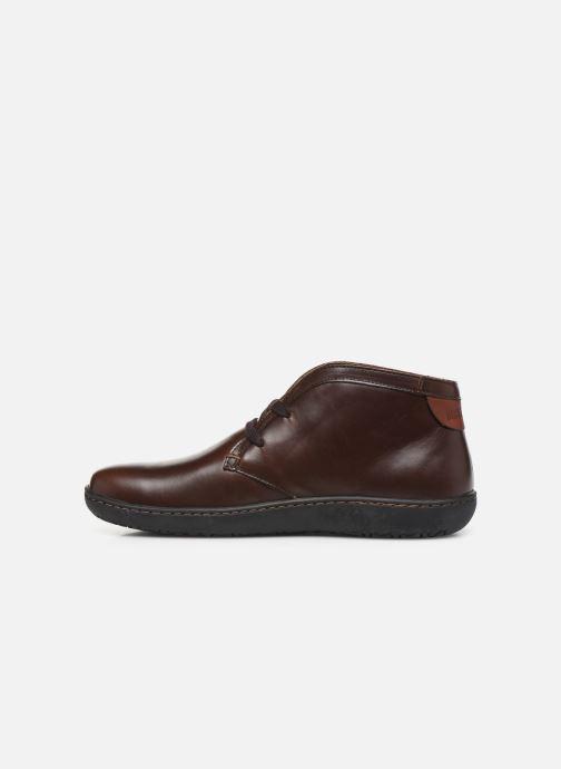 Chaussures à lacets Birkenstock Scarba Marron vue face