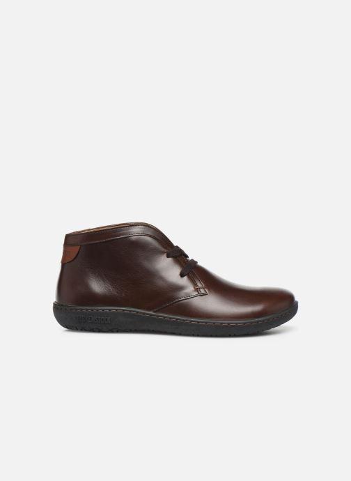 Chaussures à lacets Birkenstock Scarba Marron vue derrière