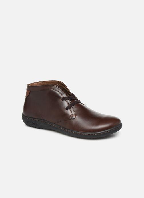 Snøresko Birkenstock Scarba Brun detaljeret billede af skoene