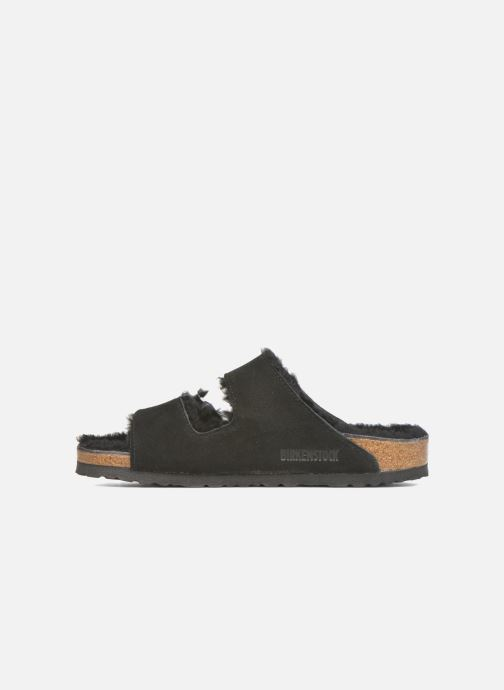 Chaussons Birkenstock Arizona Sheepskin W Noir vue face