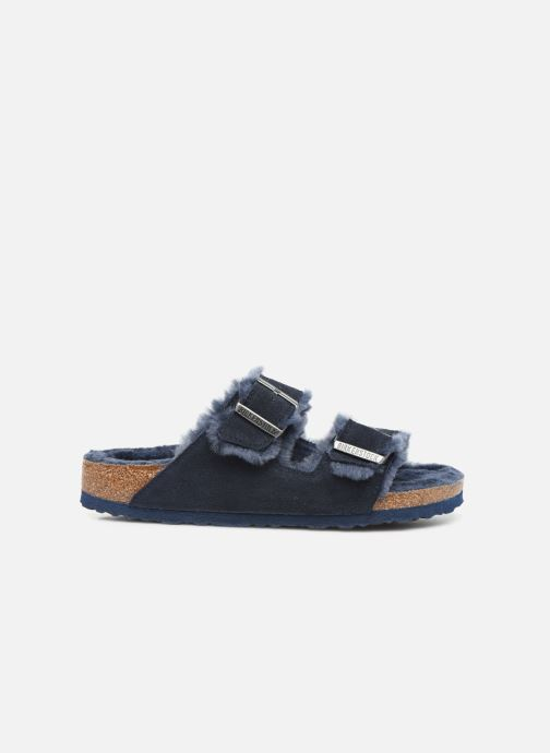 Pantofole Birkenstock Arizona Sheepskin W Azzurro immagine posteriore