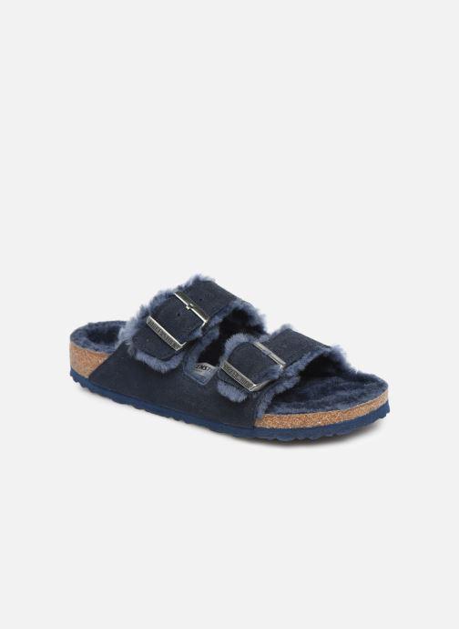 Pantofole Birkenstock Arizona Sheepskin W Azzurro vedi dettaglio/paio