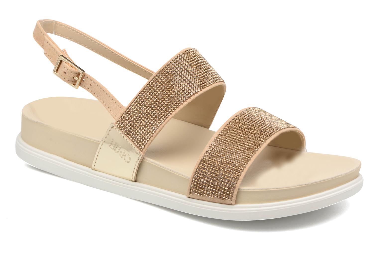 Sandales et nu-pieds Liu Jo Sandale Foot Bed Naoko Or et bronze vue détail/paire