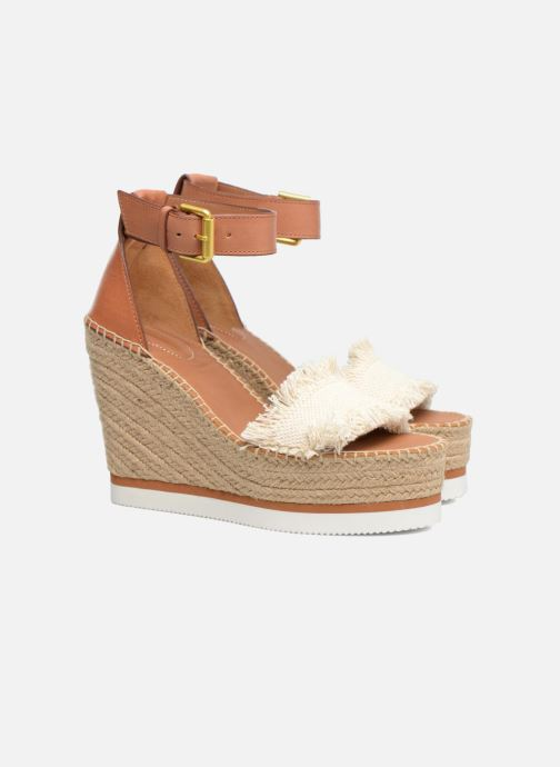 Sandalias See by Chloé Glyn High Marrón vista 3/4