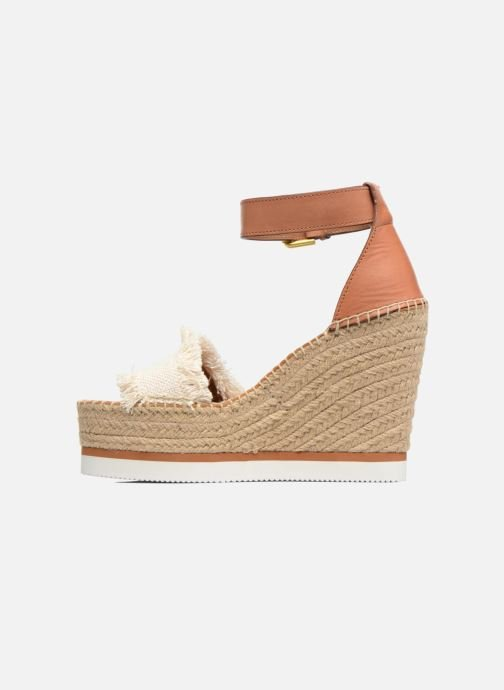 Sandali e scarpe aperte See by Chloé Glyn High Marrone immagine frontale