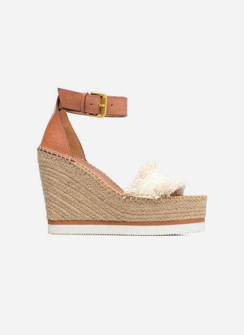 Sandales et nu-pieds See by Chloé Glyn High Marron vue derrière