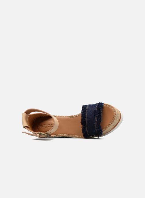 Et Nu See Chloé Glyn By High Denim Sandales pieds qUzSMVp