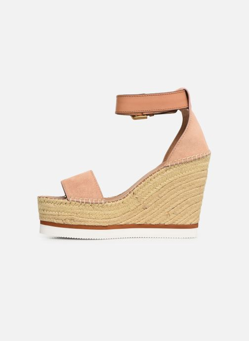Sandales et nu-pieds See by Chloé Glyn High Rose vue face