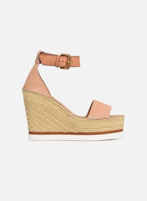 Sandales et nu-pieds See by Chloé Glyn High Rose vue derrière