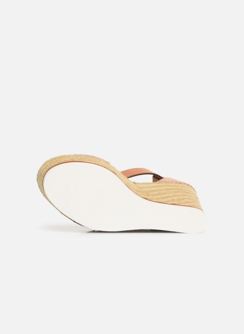 Sandales et nu-pieds See by Chloé Glyn High Rose vue haut