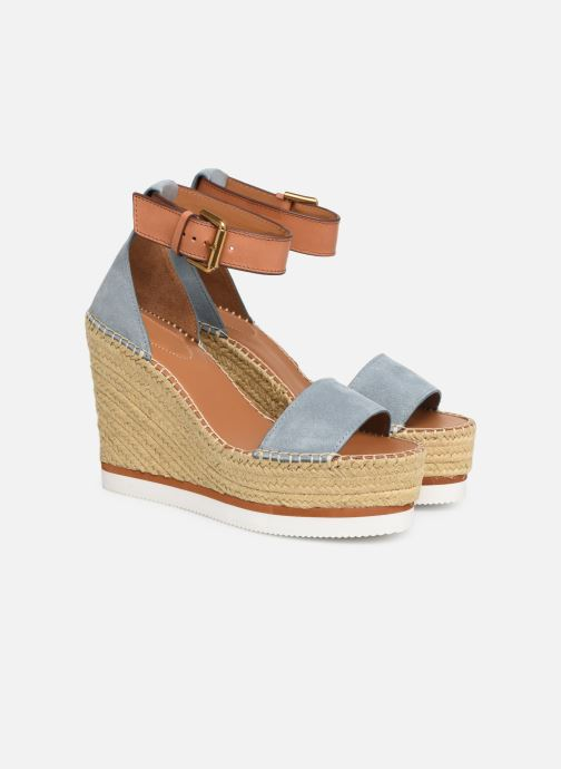 Sandaler See by Chloé Glyn High Blå 3/4 billede