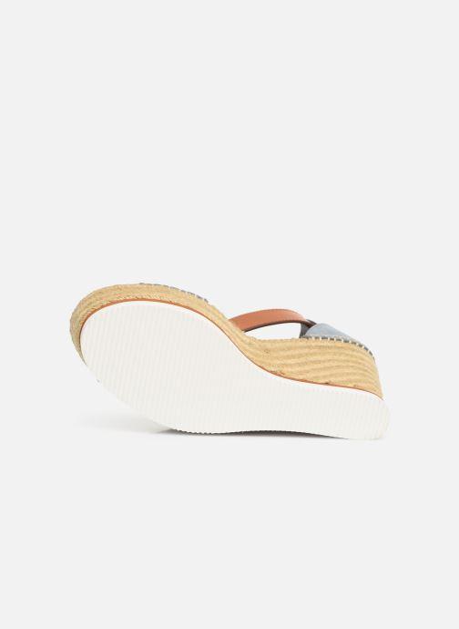 Sandales et nu-pieds See by Chloé Glyn High Bleu vue haut