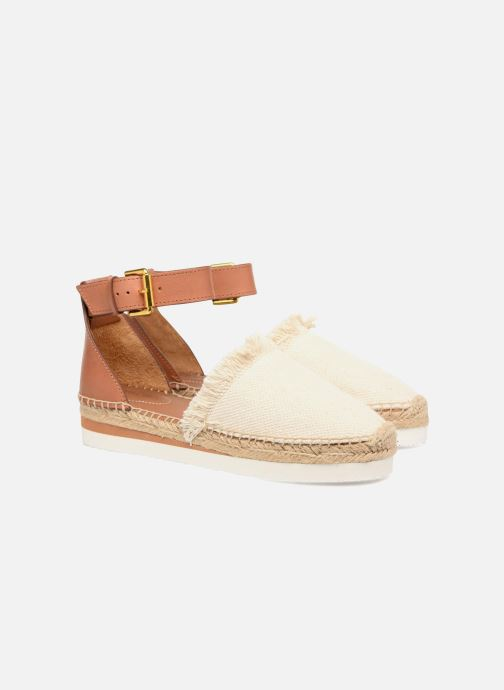 Espadrilles See by Chloé Glyn Flat Wit 3/4'