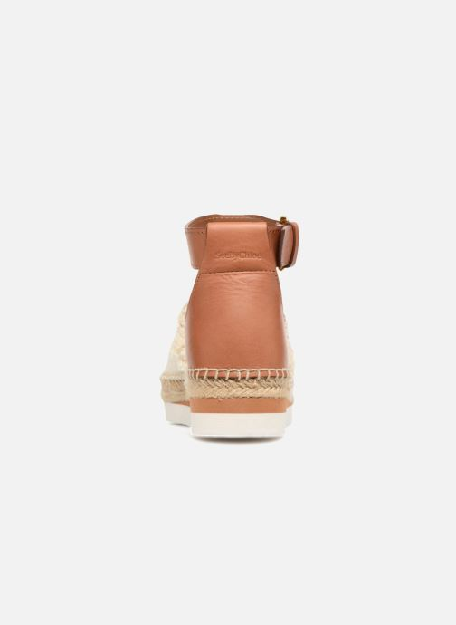 Espadrilles See by Chloé Glyn Flat Wit rechts