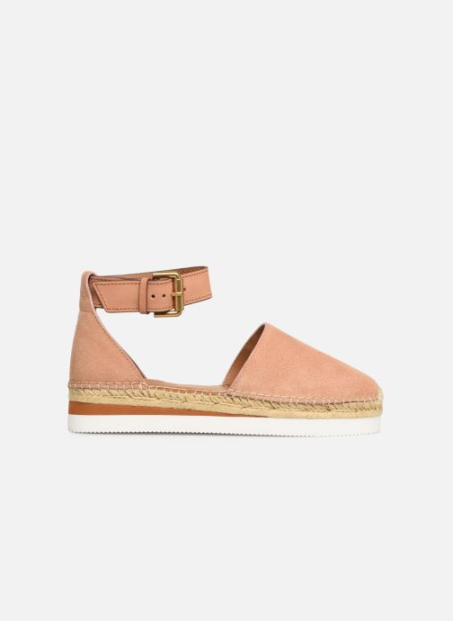 Espadrillos See by Chloé Glyn Flat Pink se bagfra