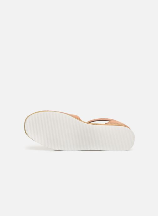 Espadrilles See by Chloé Glyn Flat Roze boven