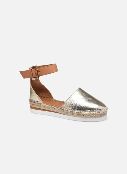 Espadrilles See by Chloé Glyn Flat gold/bronze detaillierte ansicht/modell