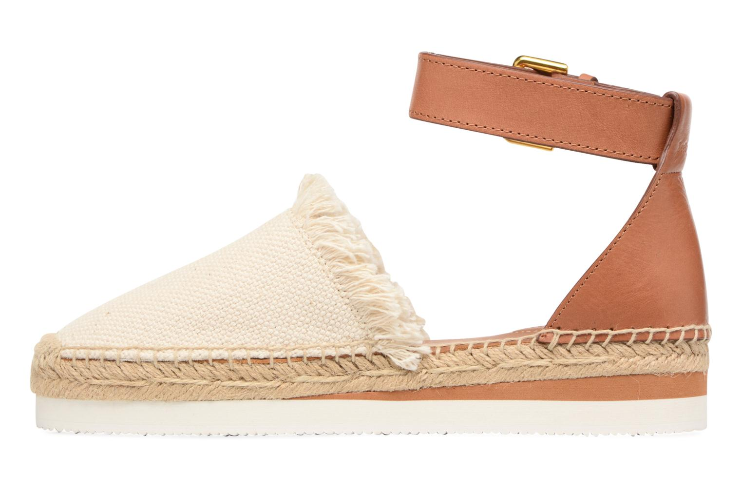 Espadrilles See by Chloé Glyn Flat White front view