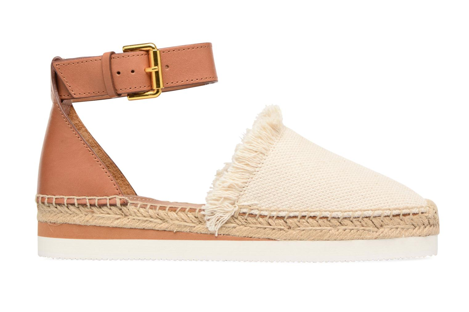Espadrilles See by Chloé Glyn Flat White back view