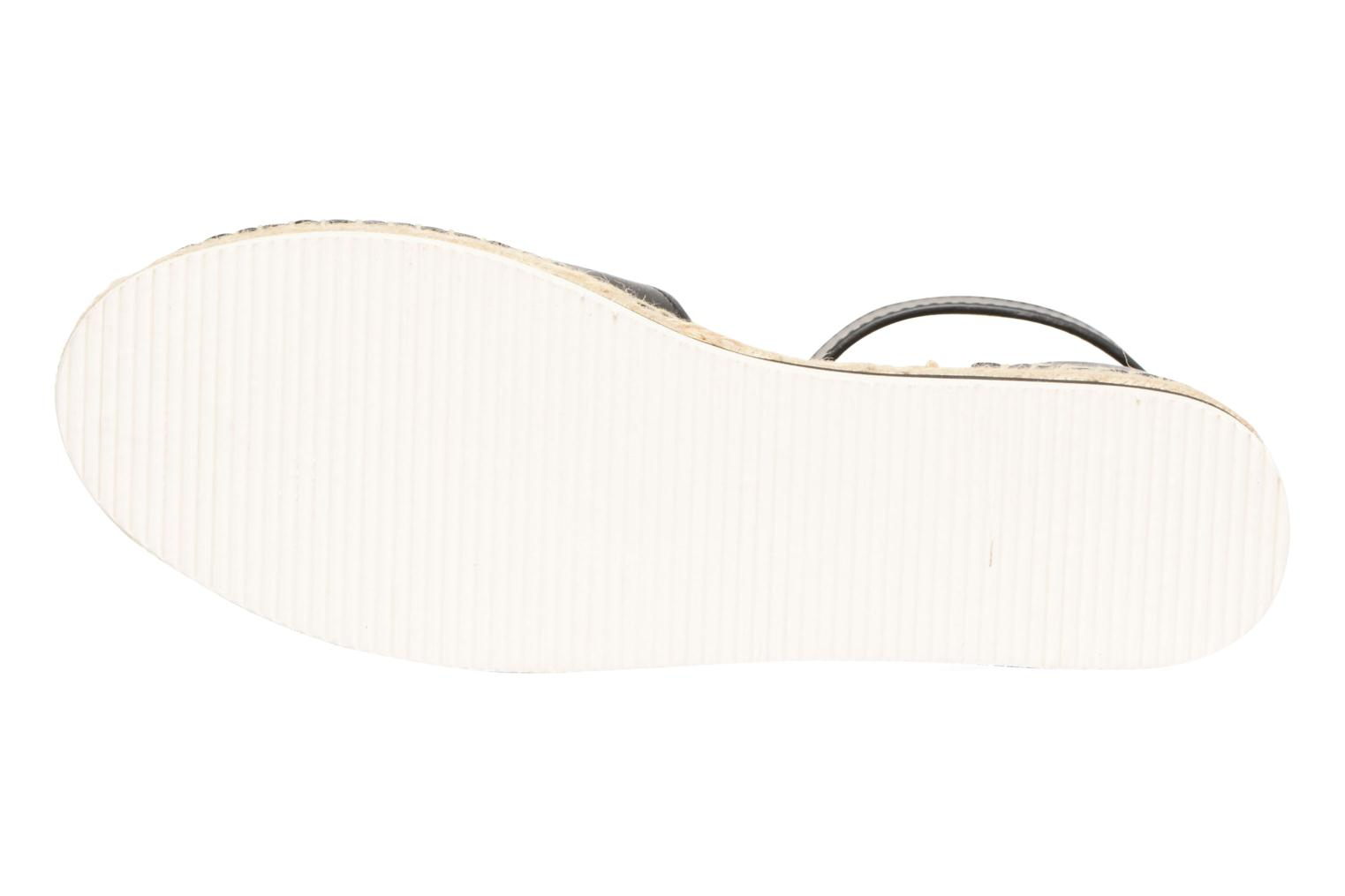 Espadrilles See by Chloé Glyn Flat Black view from above