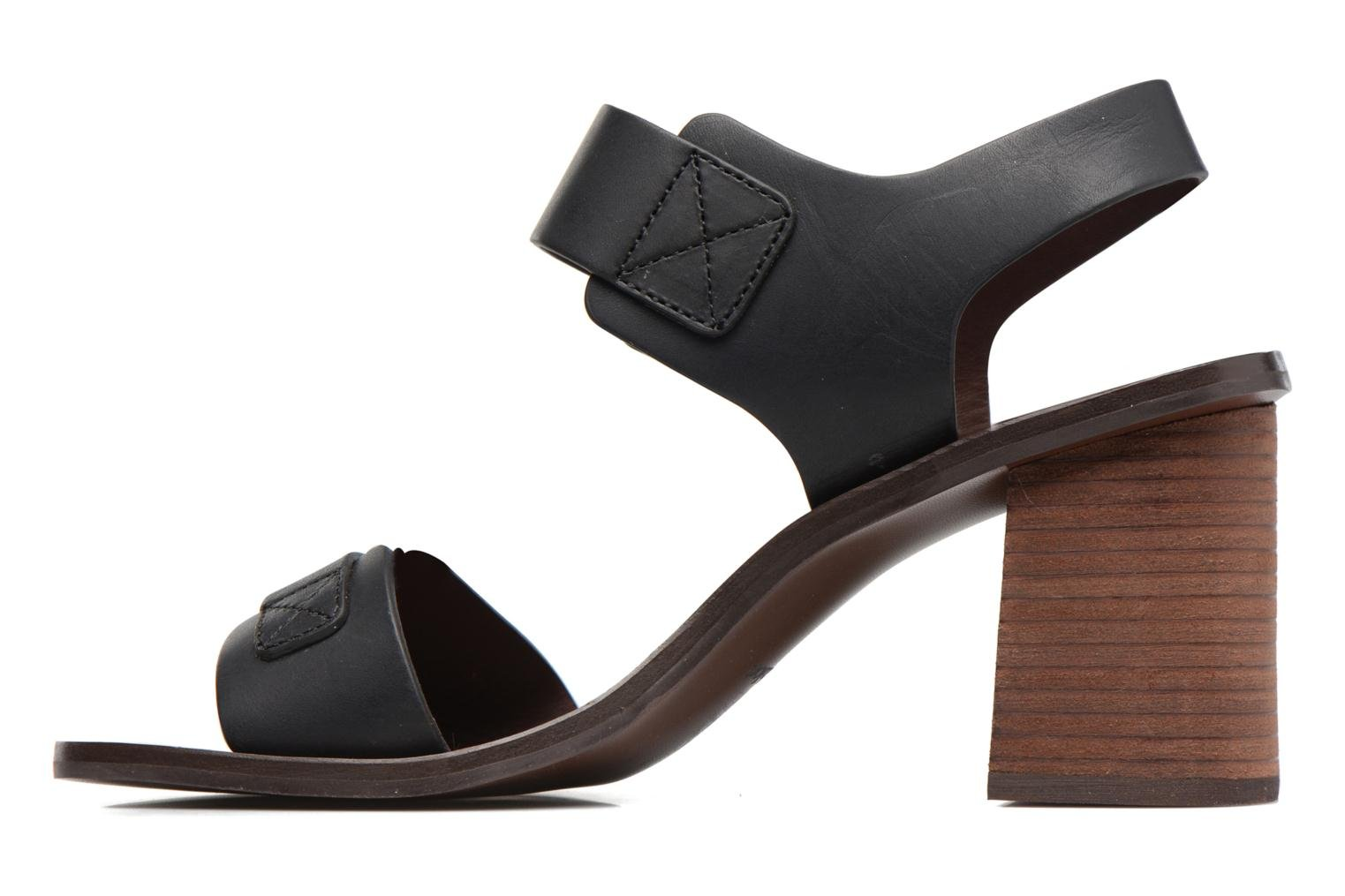 Sandals See by Chloé Romy High Black front view