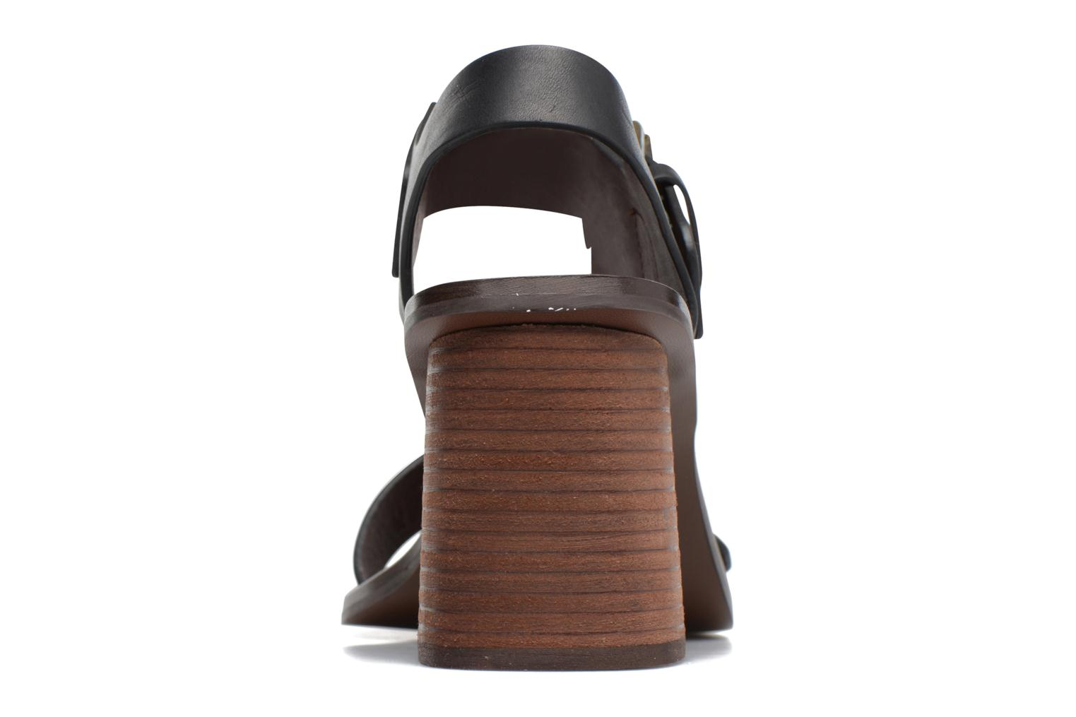 Sandals See by Chloé Romy High Black view from the right