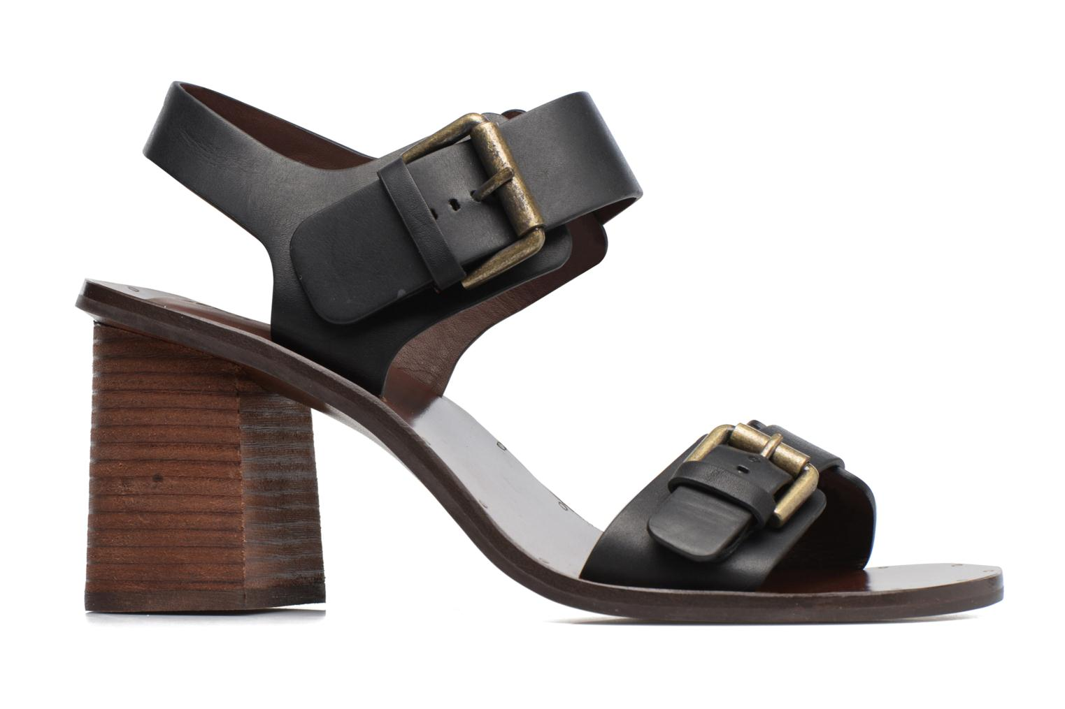 Sandals See by Chloé Romy High Black back view