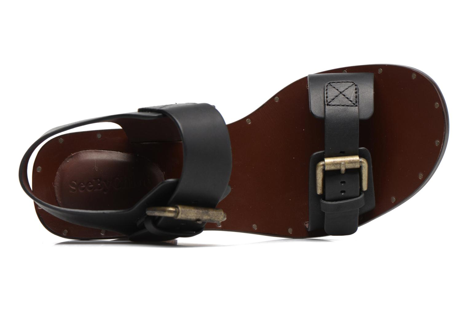Sandals See by Chloé Romy High Black view from the left