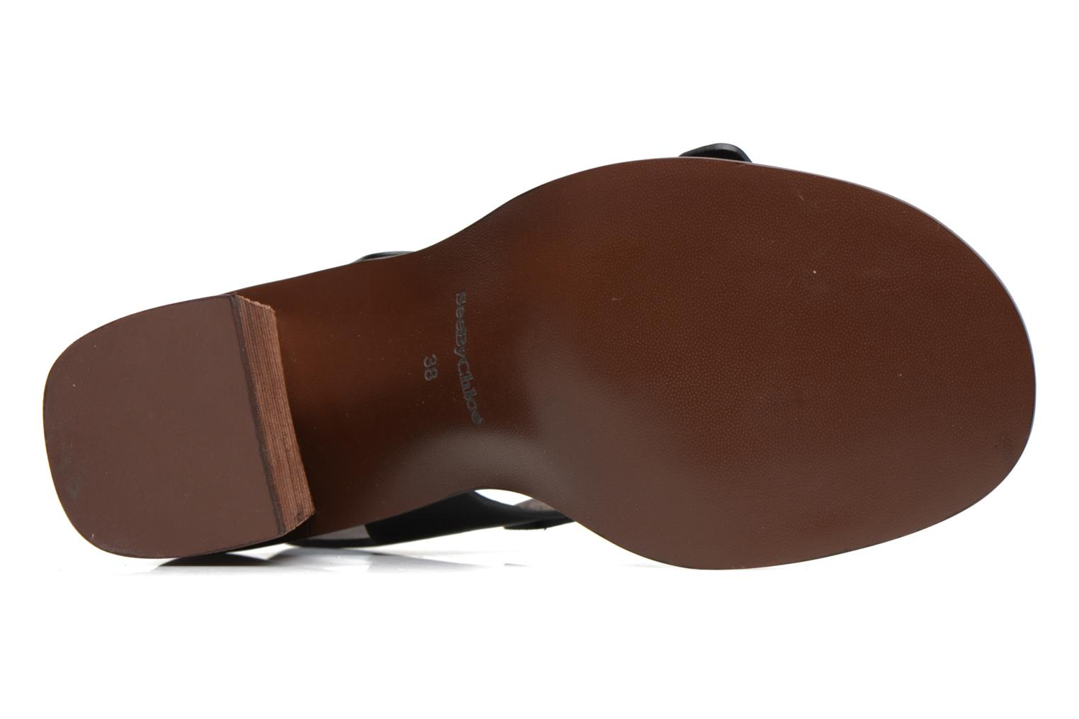Sandals See by Chloé Romy High Black view from above