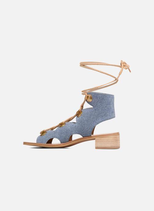 Sandales et nu-pieds See by Chloé Edna Bleu vue face